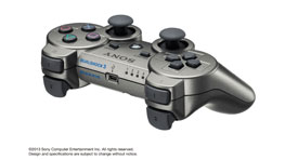DUALSHOCK®3 Wireless Controller (Metallic Gray)