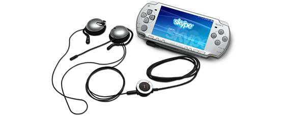 Headset with Remote Control (for PSP®-2000 & -3000 series)