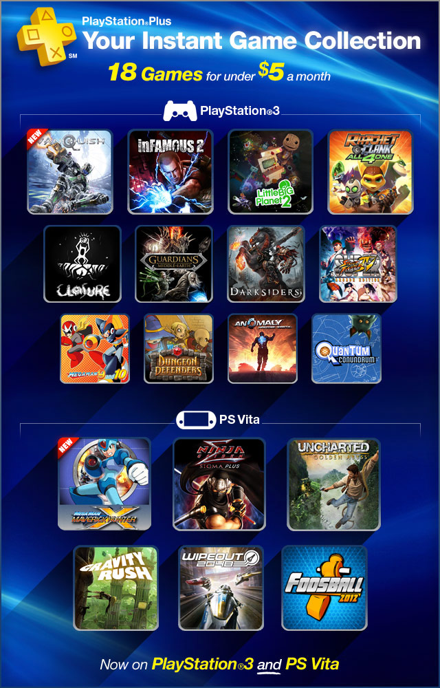 free games coming to playstation plus
