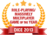 Dice 2013 - Role-Playing Massively Multiplayer Game of the Year