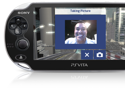 PS Vita Front Camera